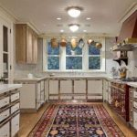 carpet in the kitchen
