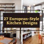 27 european-syle kitchens