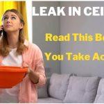 Leak in Ceiling