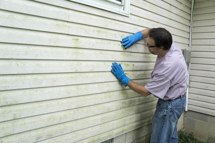 How To Get Stain Off Vinyl Siding